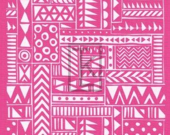 Tribal Textile Silk Screen
