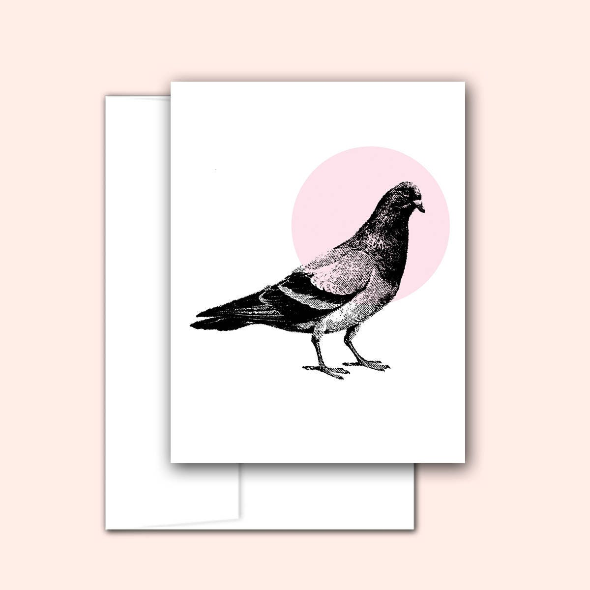 Pigeon Note Card Set 10 Cards Notecard Set Hostess Gift Card