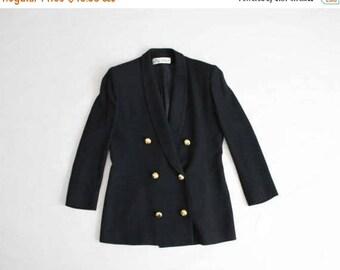 25% OFF SALE black military blazer | ilie wacs | black wool blazer