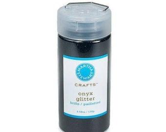 Martha Stewart Crafts (TM) / Glitter / Onyx / 4.58 oz