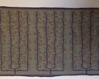"Jacquard woven panel, Espalier Apple Trees, by Laura Foster Nicholson. 25"" x 40"". Free Shipping"