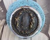 AS IS Antique Victorian Tam O Shanter Coin Purse Women