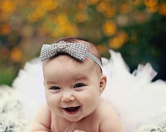 "SUMMER SALE 20% OFF Girls Photo Prop Tutu, White Tutu, Baby Tutu, Birthday Tutu, 6"" Sewn Economy Style Infant Tutu"