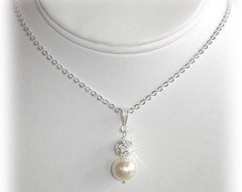 15% OFF Bliss Pearl Pendant Necklace