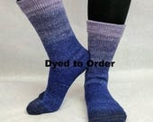 Dream A Little Dream Chromatic Gradient Matching Socks Set Yarn, dyed to order - pick your size, pick your yarn base