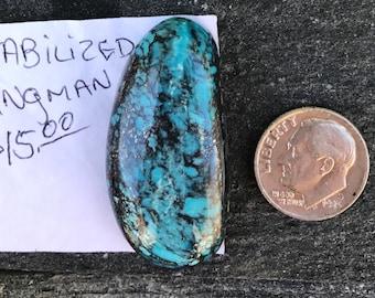 Turquoise Cabochon Kingman Stabilized