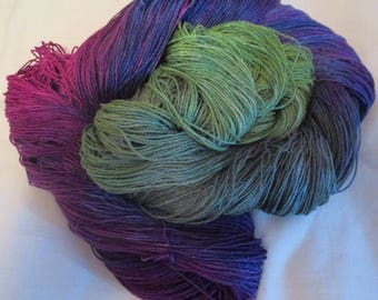 Hand Dyed Bamboo Yarn - NORTH SHORE - 630 yds.