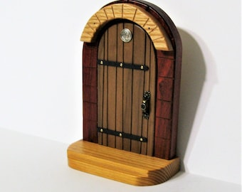 Fairy Door Made Of Four Woods