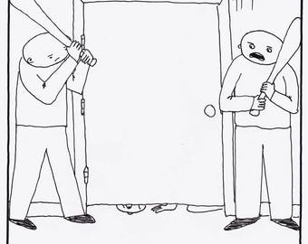 It's Okay to Come Out CARTOON