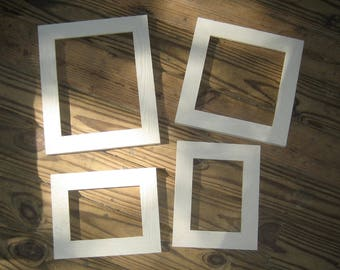 Shabby chic distressed textured picture frame - U pick size