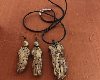 Girlfriend Goddesses® OOAK Necklace and Earring Set #2