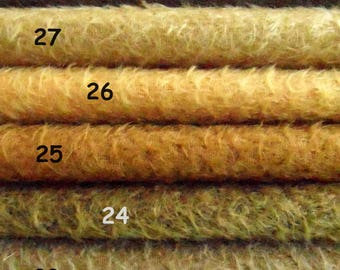 Pick your own SET of 3,  1/16 pieces of Schulte mohair. Will make lovely vintage bear. 3 x 25/35 cm