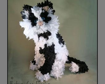 Calliope Soft Sculpture Cat