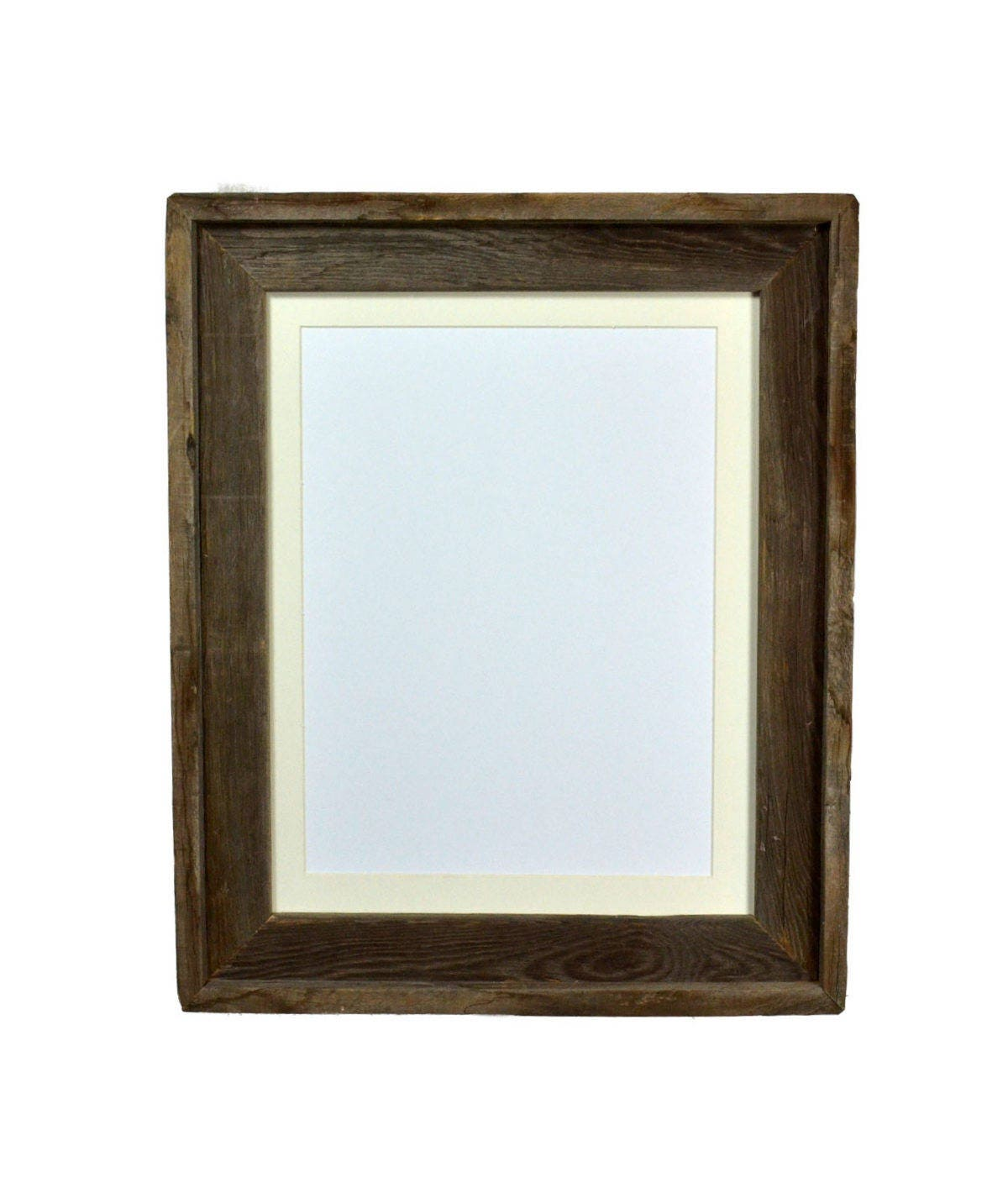Decorative Picture Frame 9x 12 Off White Mat Recycled
