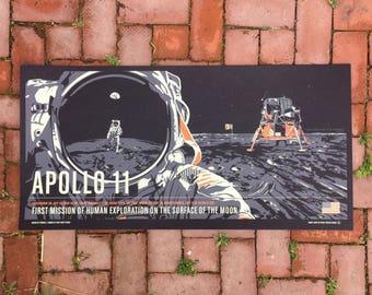 Apollo 11 - Giant Leaps in Space Screenprint Series
