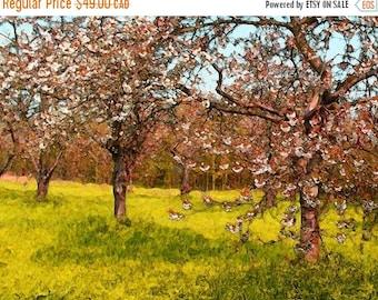 HUGE SUMMER SALE 40% off Van Gogh's Garden  Archival Giclee Print