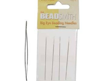 "Beadsmith Big Eye Beading Needle 2.125"" 4pk"