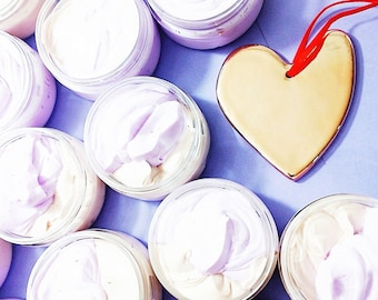 Valentine Body Butter. Whipped Body Butter. RASPBERRY CHOCOLATE Whipped Body Butter. Gift for Her. Natural Skincare. Body Cream. Valentines