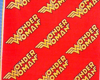 Wonder Woman NoSew Fleece Blanket