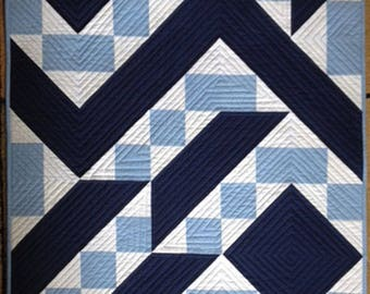 MLG-104 Blue Angles Wall Quilt PATTERN
