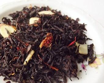 Love Potion, Amaretto, Black Tea, Loose Leaf Tea, Cherry Almond Black Tea, Tea Party Favor, Wedding Favor