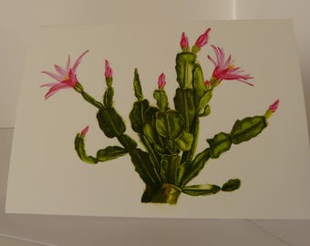 Easter Cactus Greeting Card Pack
