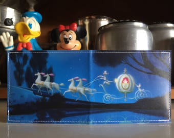 Cinderella's Carriage Disneyland Map Wallet