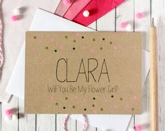 Personalised Flower Girl Card. Flower Girl Card. Flower Girls Cards. Will You Be My. Flower Girl. Be My Flower Girl. Be My Flower Girl.