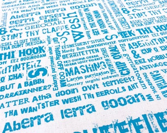 NEW More Sheffieldish Tea Towel
