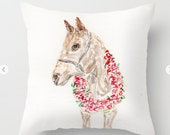 Derby Horse,Pillow, Roses...