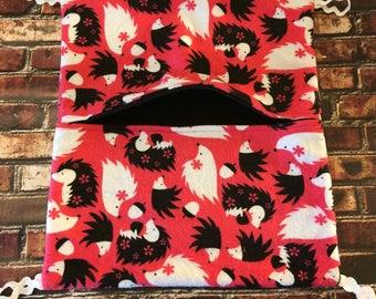 Pocket Hammock in hedgehog print