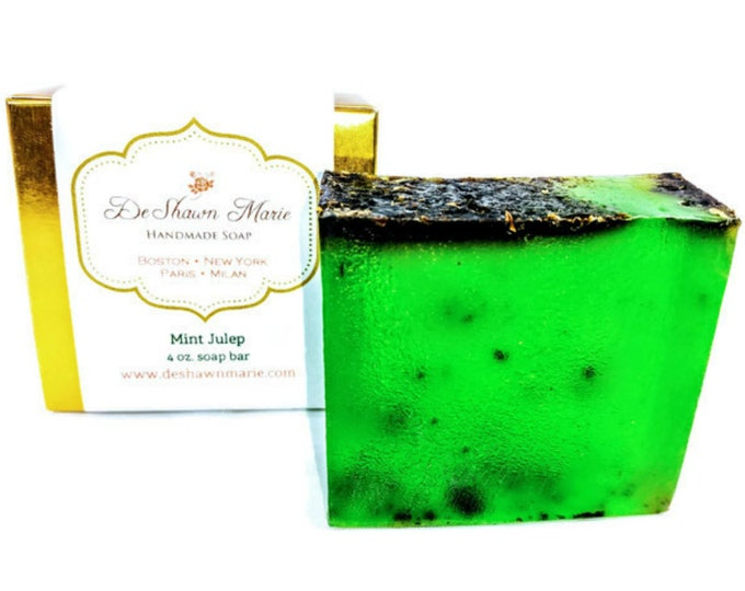 Mint Julep Handmade Soap