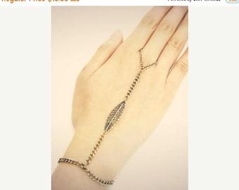SUMMER SALE BRASS Hand bracelet slave bracelet