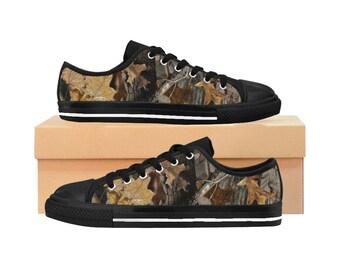 Sneakers pour femme camo   Chasseuse à l'affût