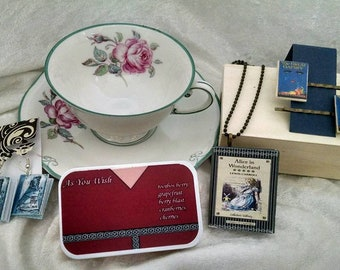 Spring Fling Tea Party Set - Contains 40 dollars of Kit's Designs Items for only 20 dollars each set - All Packages contain Tea Cup and Tea