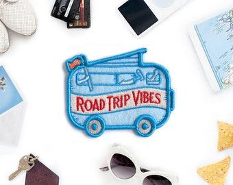 Road Trip Vibes Felt Sticky Patch