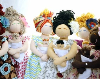 Personalize - Birthing and Breastfeeding MamAmor Doll