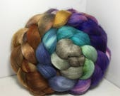 Polwarth/Bombyx/Cashmere 40/40/20 Roving Combed Top - 5oz - Huntress 2