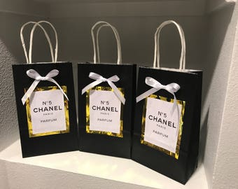 Chanel Number 5 Party Bags