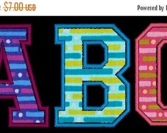 SALE 65% OFF College Varsity Applique Machine Embroidery Monogram Fonts Designs Instant Download Sale