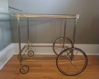 Vintage Tea, Coffee or Bar cart