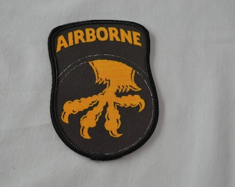 Vintage AIRBORNE sew on patch U.S. Army