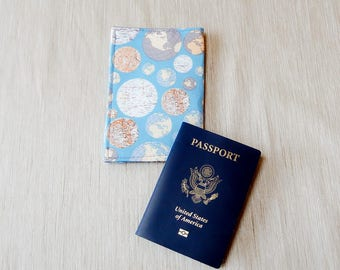 Passport Wallet/ Passport Cover/ Passport Holder/ Gift for Travelers/ Passport Cover Case/ Gift for Her/ Coworker Gift/ Valentine's Day Gift