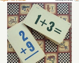 ON SALE A Dozen 1959 Awesome Flash Cards Subtraction Only