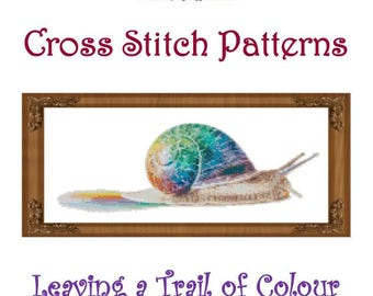 Leaving a Trail of Colour Cross Stitch Pattern
