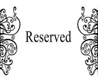 xX RESERVED LISTING Xx for E
