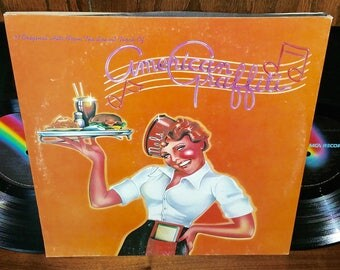 American Graffiti Vintage Vinyl Motion Picture Soundtrack Double Album