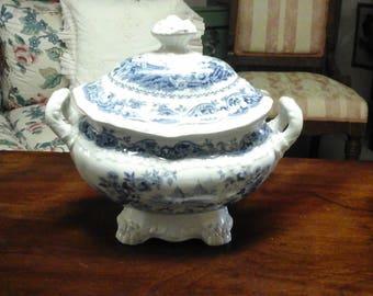 Antique Oriental Beauties Sugar Bowl by Elijah Jones