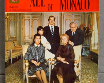 Vintage Guide Booklet - All The Principality of Monaco