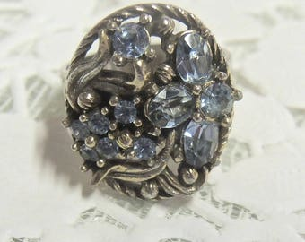 Adjustable Costume Jewelry Ring